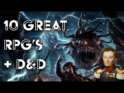 10 Great Roleplaying Games Plus Dungeons And Dragons