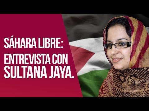 Entrevista con Sultana Jaya, activista saharaui atacada por Marruecos