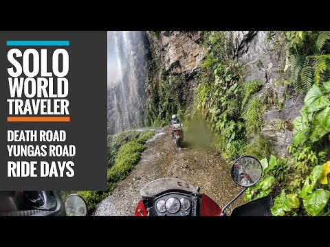 Ride Day 56: Yungas Road, Bolivia / The Death Road by Motorbike