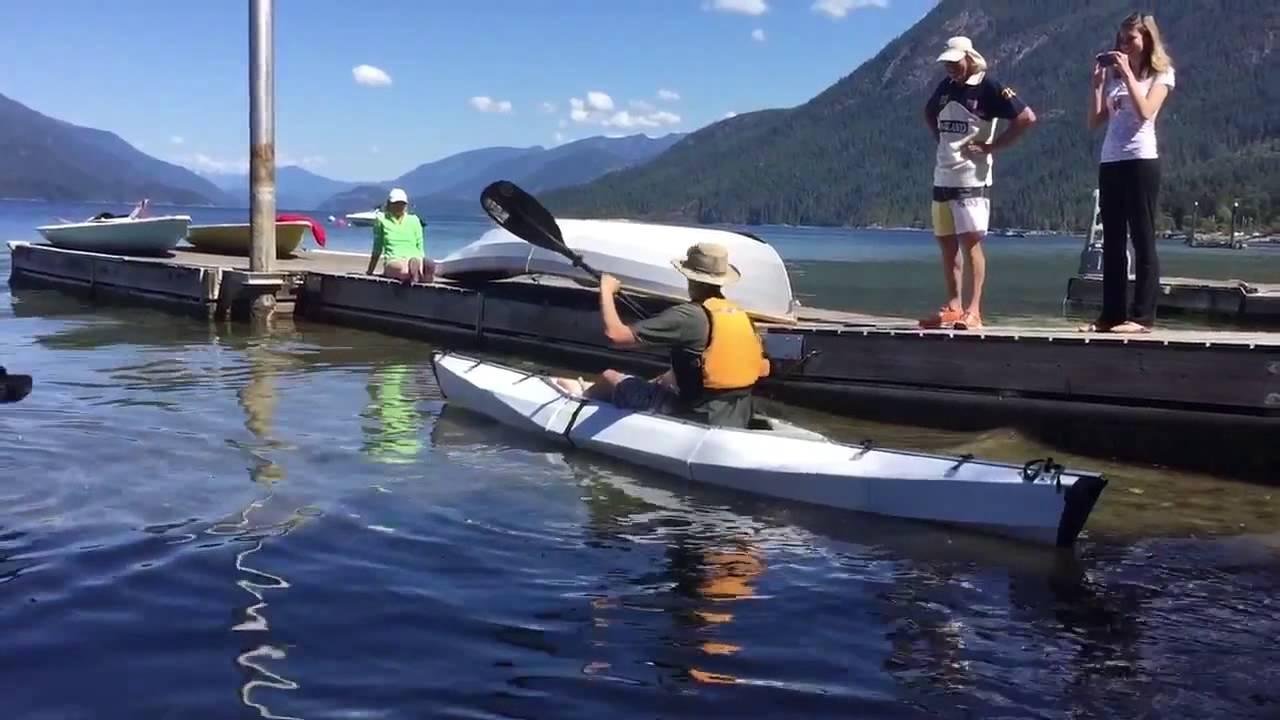 DIY Folding Sit-on-Top Kayak V1 by Frank McFires