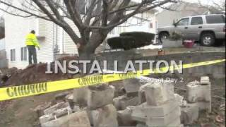 Foundation Settlement Repair in East Haven, CT   Structural Damage Repair in CT Case Study