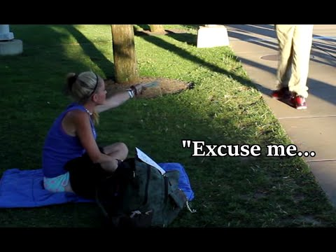 Thumbnail: Homeless Woman Does Amazing Act!!