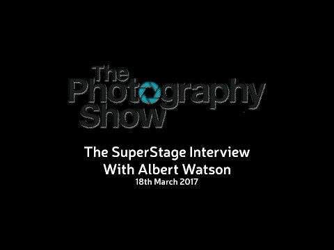 The Photography Show - Super Stage interview with Albert Watson - 18 March 2017