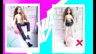 как сделать фотографии для кукол
