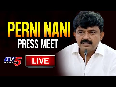 YCP Minister Perni Nani Press Meet Live | Amaravati | TV5 News teluguvoice