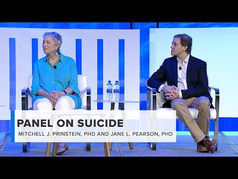 APA 2019 Main Stage: Panel on Suicide Prevention