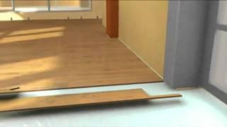 Укладка ламината своими руками(Смотрите больше видео уроков на http://grandecor.com.ua., 2012-02-17T11:41:54.000Z)