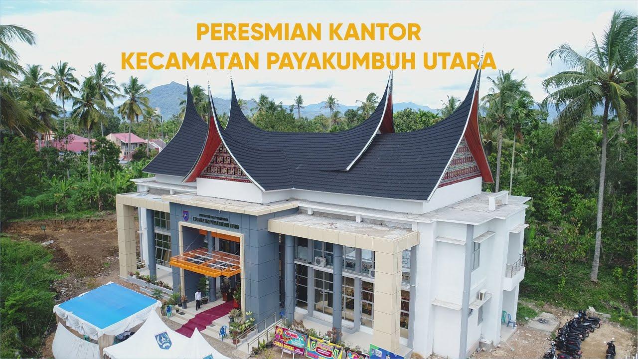 Update Kantor Camat Termegah Di Payakumbuh Diresmikan Wali Kota Riza Falepi Hari Ini Terdekat Di 2021 Rabab Minangkabau