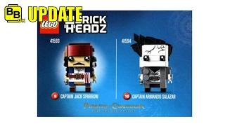LEGO PIRATES OF THE CARIBBEAN BRICKHEADZ IMAGE NEWS UPDATE