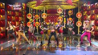 [HD] 130104 SNSD - Dancing Queen + I Got a Boy @ Music Bank Comeback Stage