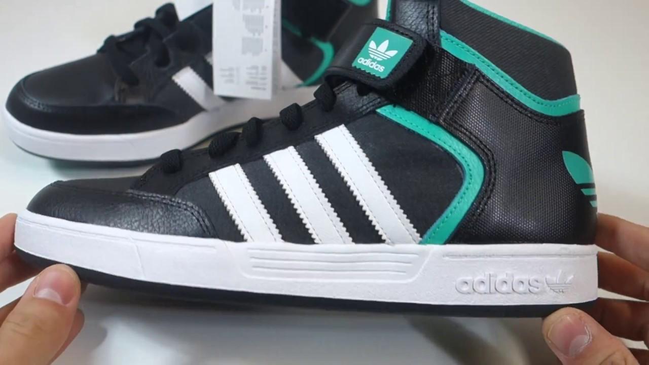 Pánské stylové kotníkové boty adidas Originals Varial Mid - YouTube 296845c2c1b