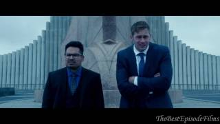 War on everyone (2016) HD (2/4) - Terry and Bob are looking for Reggie in Iceland.