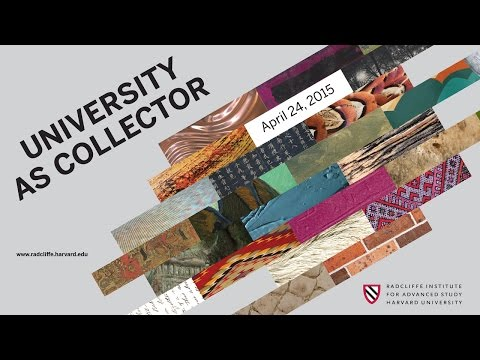 Libraries | University As Collector || Radcliffe Institute