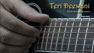 Teri Deewani - Kailash Kher - Guitar Chords Lesson