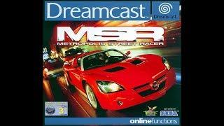 Dreamcast: Metropolis Street Racer (MSR) (HD / 60fps)