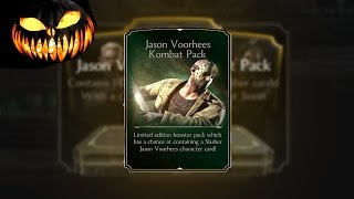 Jason Voorhees Kombat Pack Opening! Mortal Kombat X! IOS/Android
