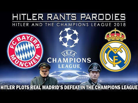 Hitler plots Real Madrid's defeat in the Champions League