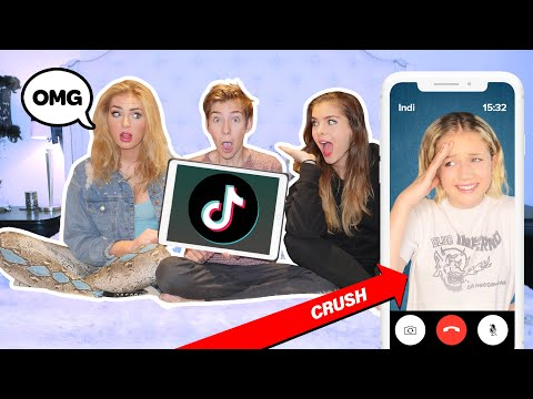 My SISTER Reacts To My COUPLES TIK TOKS **Try Not To Cringe CHALLENGE**😂📱| Sawyer Sharbino