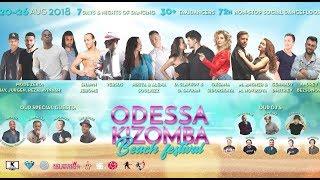 ODESSA KIZOMBA BEACH FESTIVAL 2018