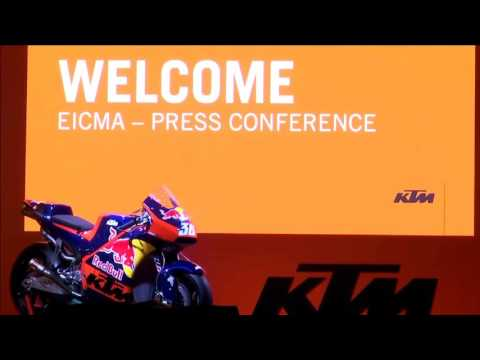 EICMA KTM Press Conference Live Stream