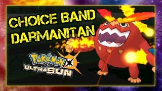 Pokemon Ultra Sun and Moon VGC 2019 Sun Series Battle - CHOICE BAND DARMANITAN