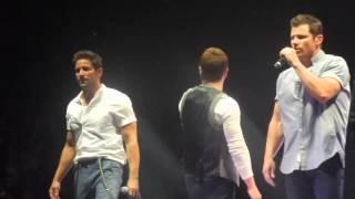 Girls Night Out, Invisible Man, Hardest Thing 98 Degrees Philly