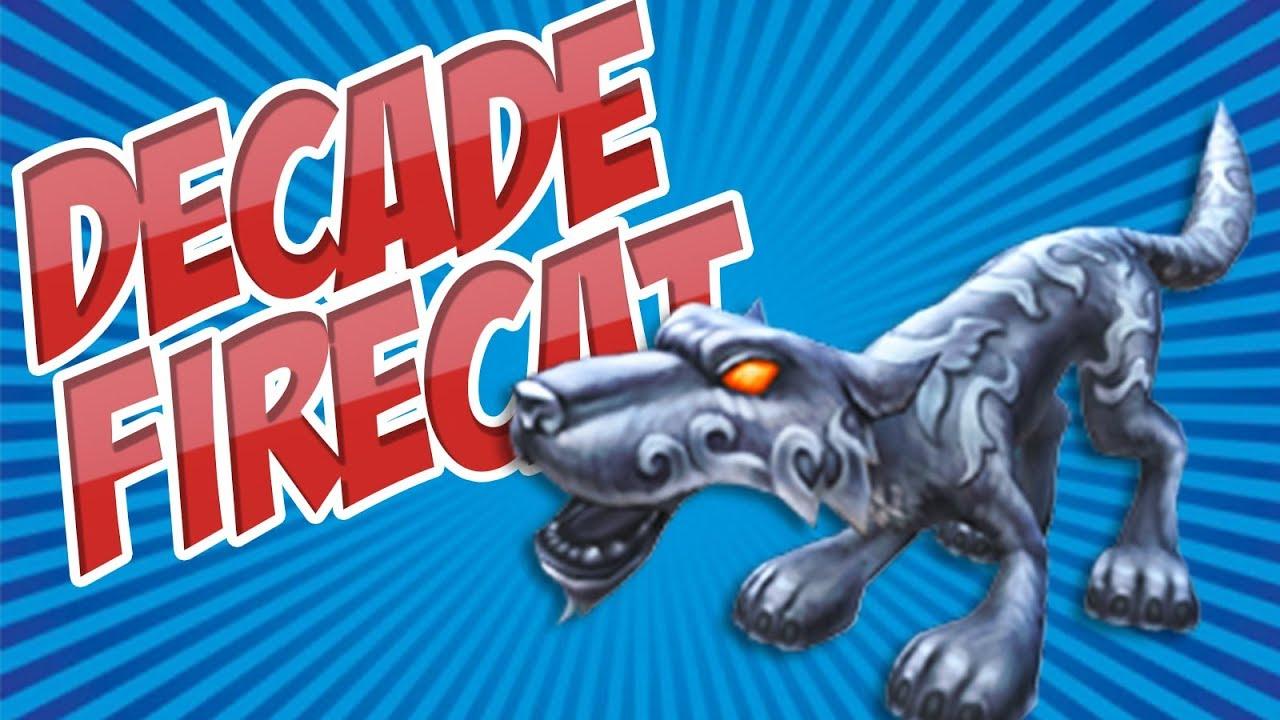 Wizard101: Decade Firecat Pet Showcase + ALL New Pet Talents