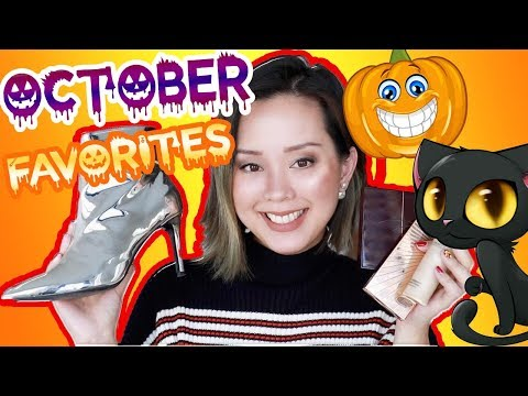 MONTHLY FAVORITES BEAUTY, FASHION, & MORE | OCTOBER 2017