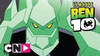 Ben 10 | Diamond Head v Giant Robot | Cartoon Network