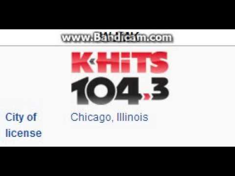 WJMK 1043 KHITS Chicago, IL TOTH ID at 5:00 pm 8222014