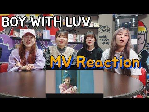 [MV REACTION] BTS Boy With Luv (작은 것들을 위한 시) (춤추는곰돌:AF STARZ)