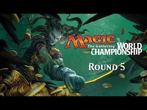 2017 Magic World Championship Round 5 (Standard): William Jensen vs. Reid Duke