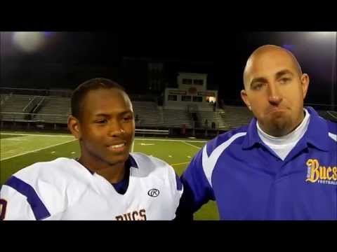 2014 Coleman & Coach Leonard post game