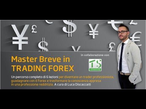Master Breve Forex - Lezione 1 - Analisi Tecnica e studio dei grafici