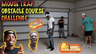 MOUSE TRAP OBSTACLE COURSE CHALLENGE VS BYRD ft RUNIK & FUNNY MIKE **MUST WATCH**