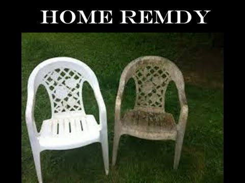 HOW TO CLEAN PLASTIC CHAIR   JUGAAD Part 59