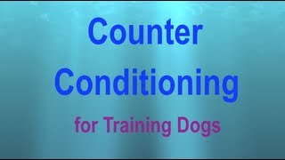 Counter Conditioning: a Visual Explanation
