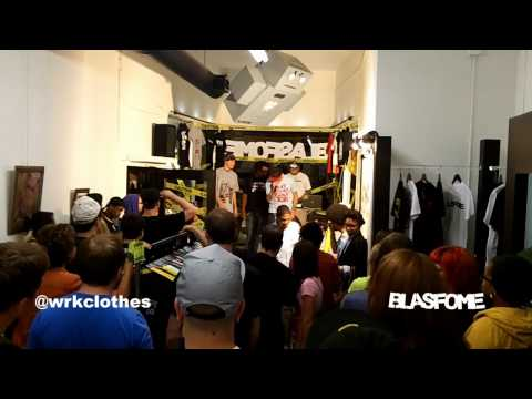 Blasfome X WRK Clothes Pop Up Store