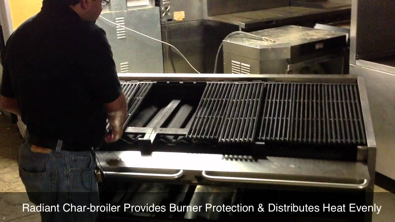 magic kitchen grill island exhaust fans hoods magikitch n fm660 char broiler with mac s restaurant equipment youtube
