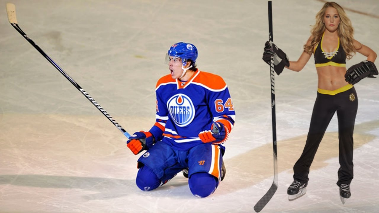 Nhl ice hockey goal