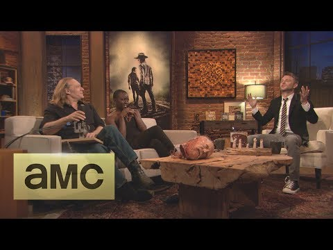 Greg Nicotero on Hershel's Decapitated Head: Episode 409: Talking Dead