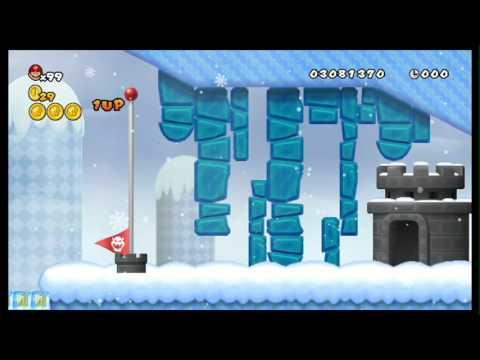 Newer Super Mario Bros. Wii - World 5 - Freezeflame Glacier/Freezeflame Volcano