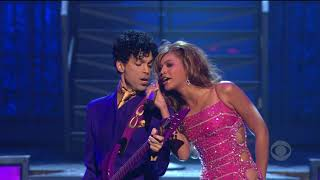 Beyoncé and Prince - Purple Rain Live - 46'th Annual Grammy Awards