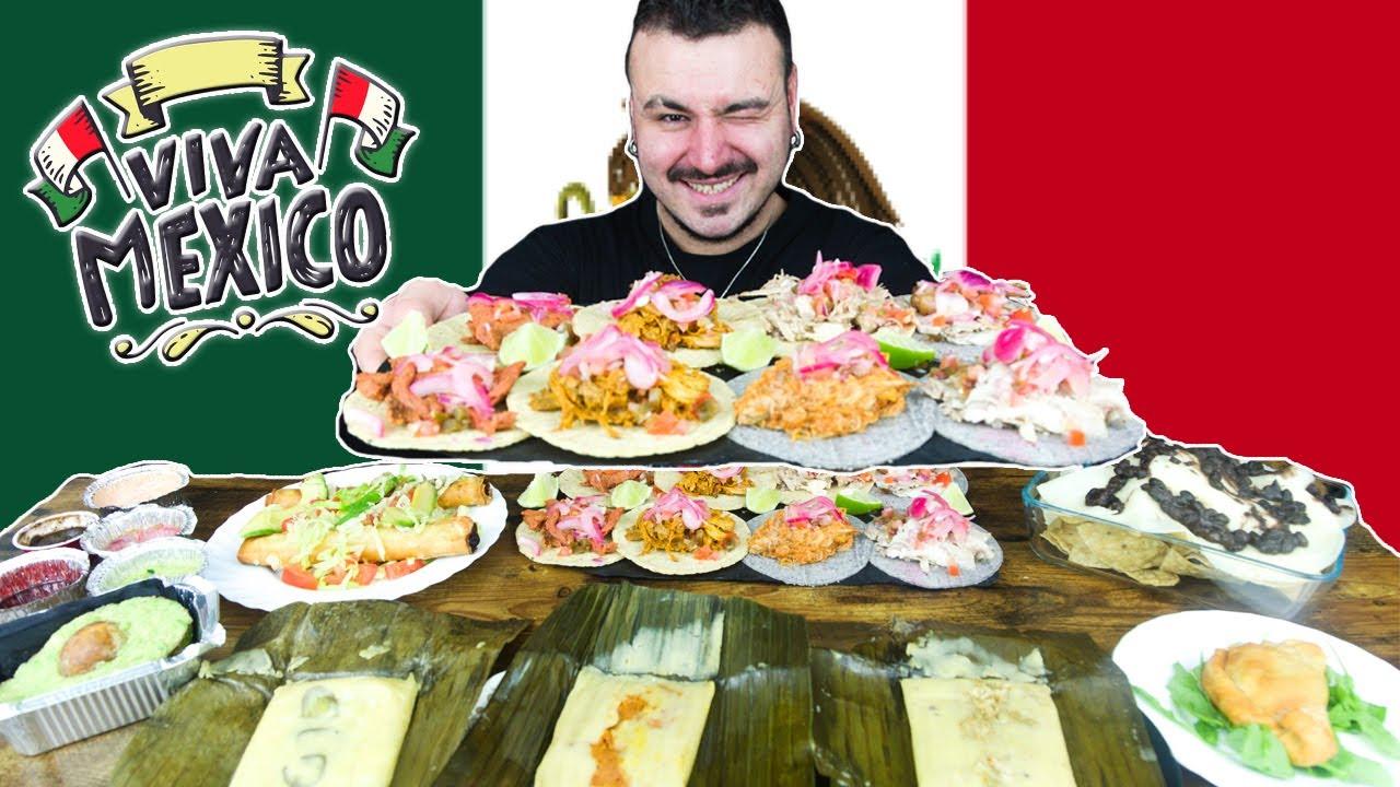 Probando COMIDA TÍPICA de MÉXICO y FLIPANDO con los TACOS!