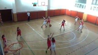 2016 0129 Basket U13 OP U13 Studánka Pardubice - Bižuterie Jablonec 2Z