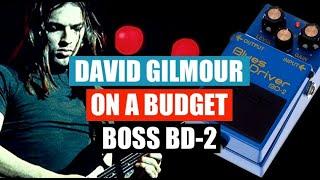 David Gilmour on a Budget - BOSS BD2