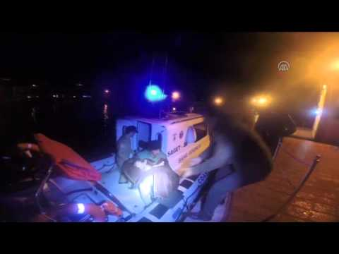Turkish Coast Guard rescued illegal migrants in Aegean Sea 1