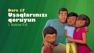 Мультфильмы на азербайджанском урок 17  Uşaqlarınızı qoruyun