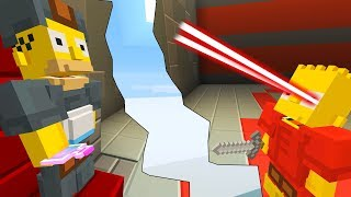 BART AND HOMER SIMPSON BECOMES A SUPERHERO | The Simpson | Minecraft Xbox