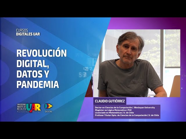 Curso Revolución Digital: Datos y pandemia | Semana 2: El saber para transformar